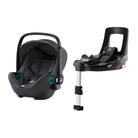Britax Römer Baby-Safe3 i-Size babyskydd + flexbas, valfri färg