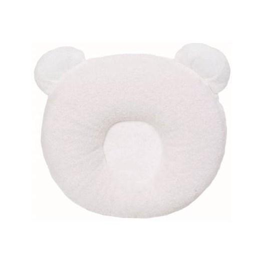 Candide Panda babykudde, vit