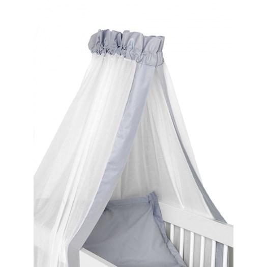 NG Baby sänghimmel, grå