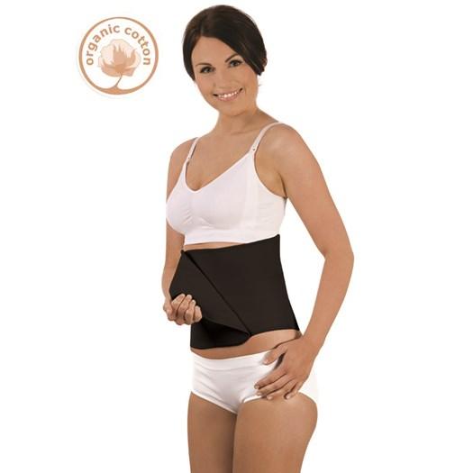 Carriwell belly binder L/XL EKO, svart