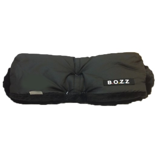 Bozz handmuff, svart fleece