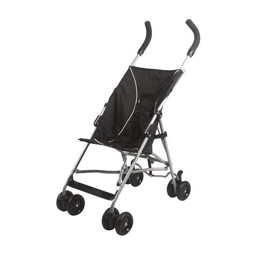 Basson Baby Mini Basic paraplysulky, svart
